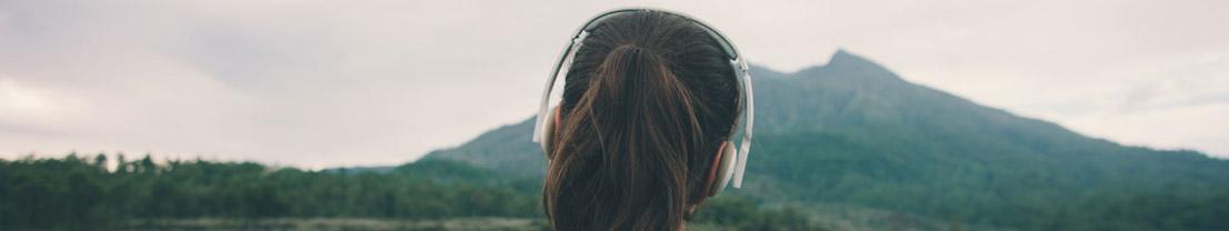 Musik und Meditation können helfen, das innere Gleichgewicht zu wahren