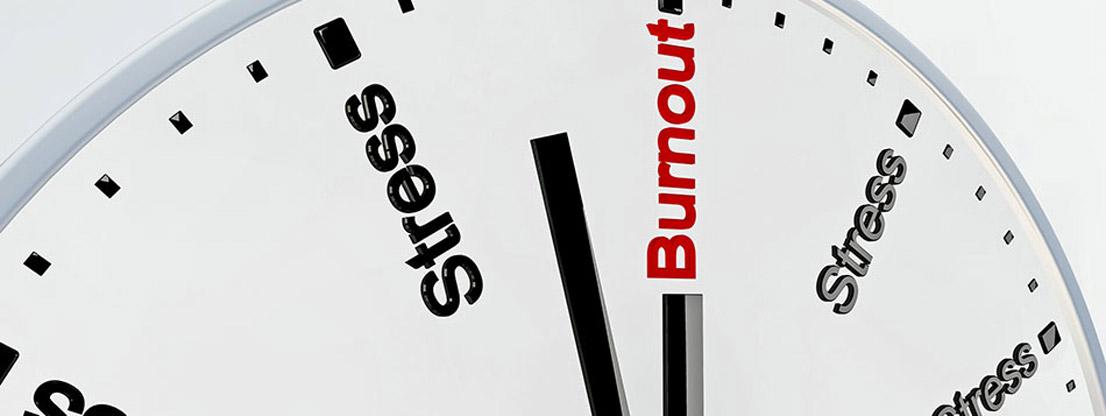 Stress kann zu Burn-Out führen