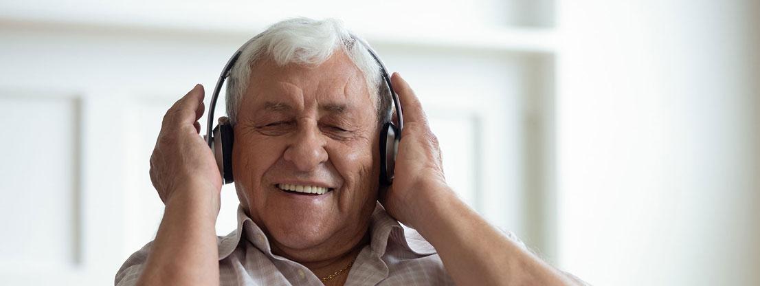 Man hears binaural beats