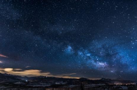 Night sky meditation exercise