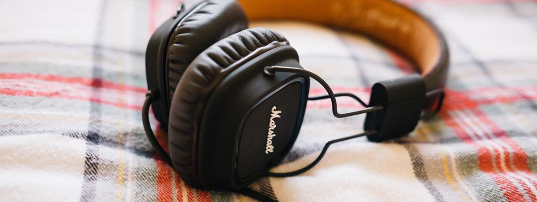 Kopfhörer für Musik und binaurale Beats