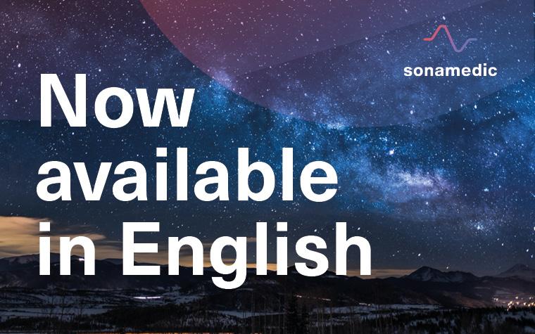 sonamedic App english version available