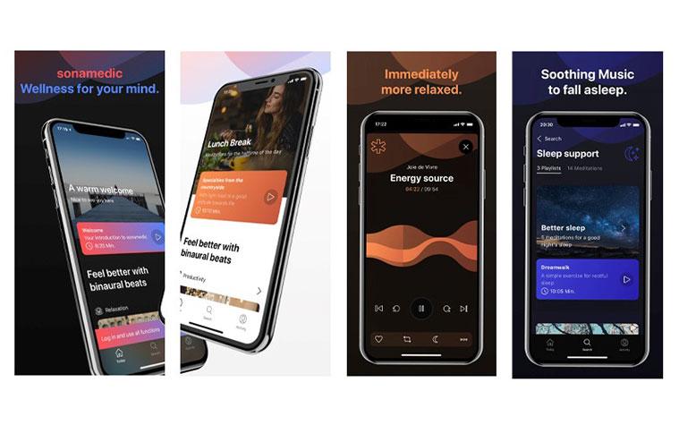 Neue sonamedic App Play Store
