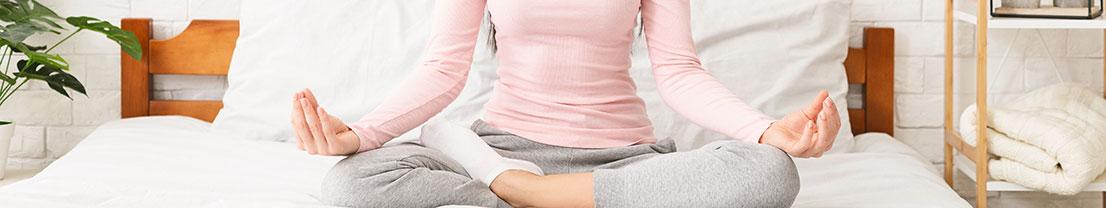 Frau Meditation