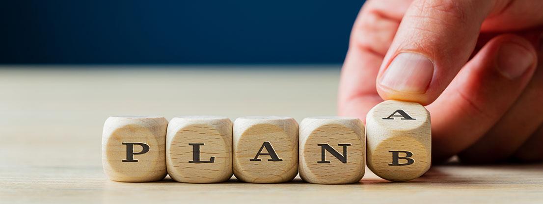 Plan B for meditation practice