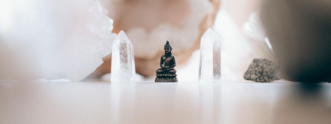 Buddha, meditation and spirituality