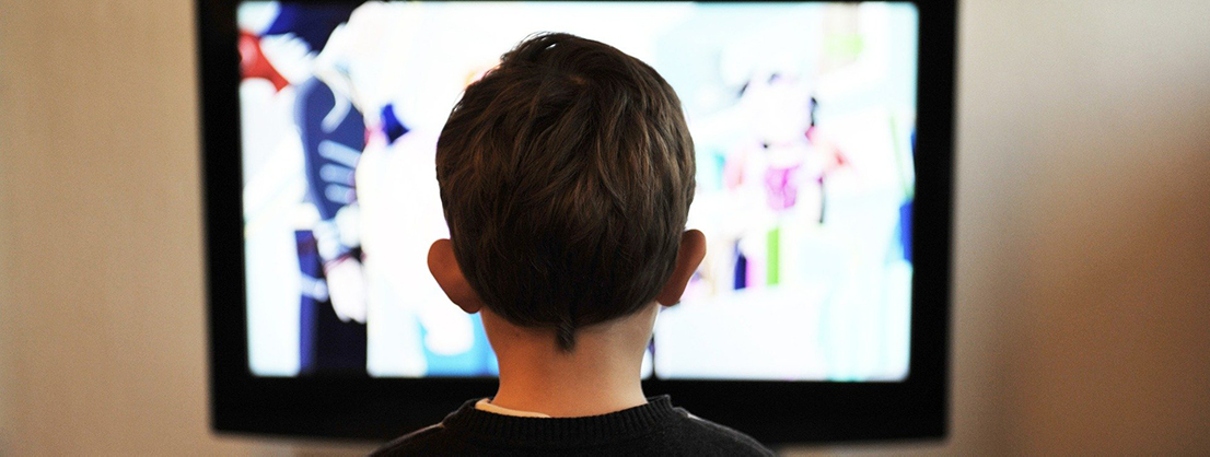 too much media consumption, child watches TV