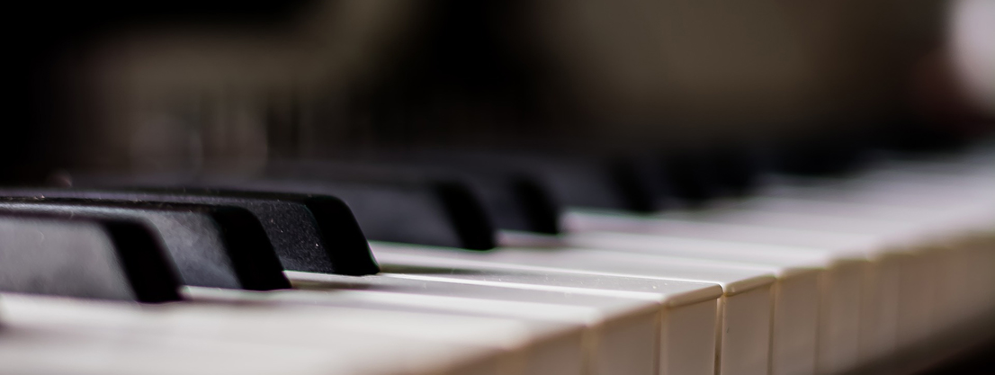 Piano, music as a counterpoint to silence