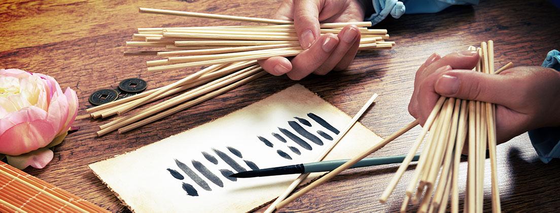 Das I Ging oder Yijing ist wichtig für den Taoismus