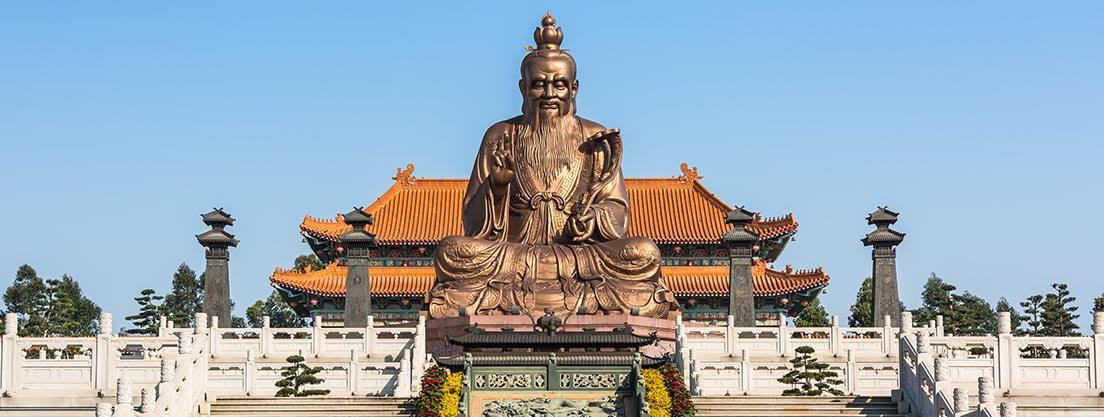 Laotse Begründer des Daoismus