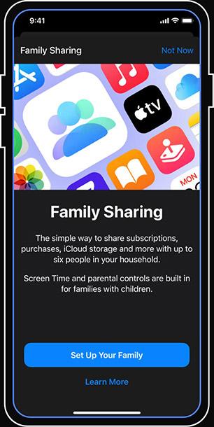 family sharing iOS