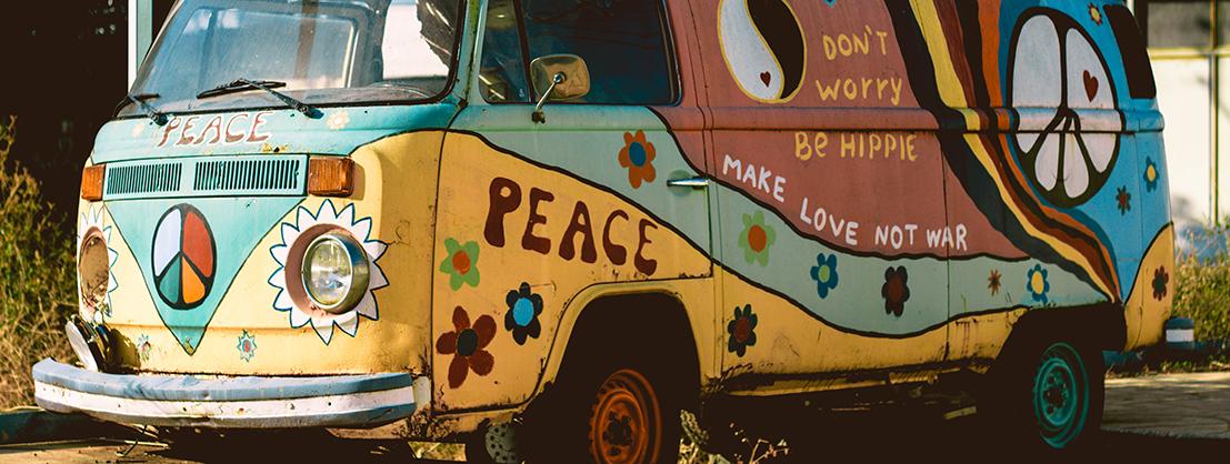 Hippie-Truck