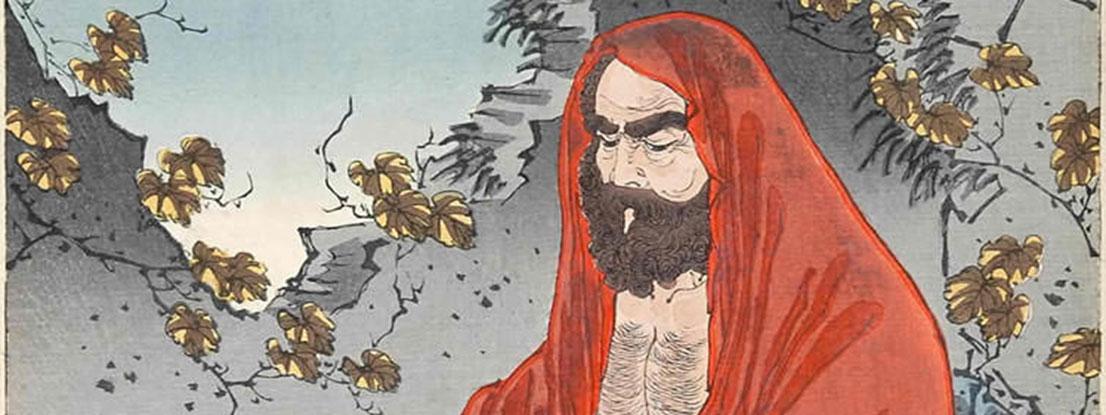 Bodhidharma, Urvater des Zen