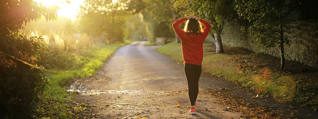 Bewegung buat Stress ab