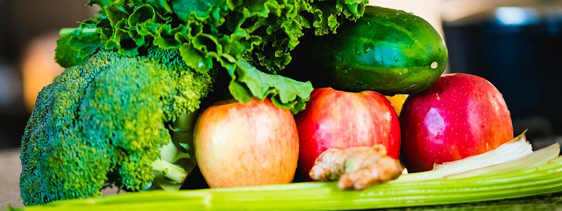 gesunde Ernährung aktiviert die Selbstheilungskräfte