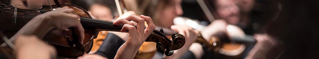 Musiker, emotionale Klassische Musik