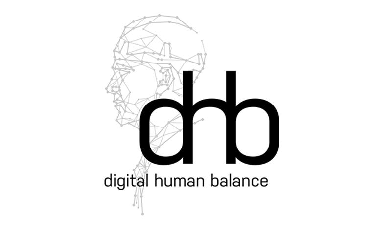 Logo digital human balance (dhb)
