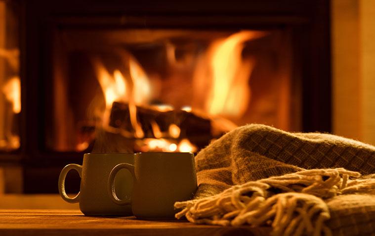 Herbsterholung: Feuer und Tee